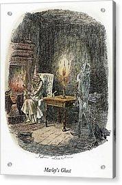 Dickens Christmas Carol, 1843 Acrylic Print