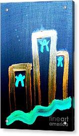 ...died For Freedom... Acrylic Print by Jutta Gabriel
