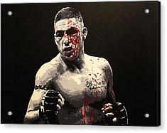 Diego Sanchez - War Acrylic Print