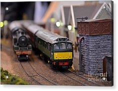 Diesel Electric Model Train Railway Engine Acrylic Print