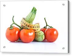 Diet Ingredients Acrylic Print