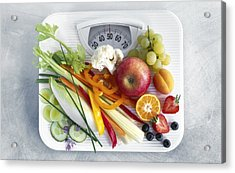 Dieting, Conceptual Image Acrylic Print by Science Photo Library
