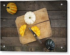 Different Sorts Of Mini Squashes Acrylic Print by Westend61
