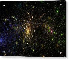 Different Starry Night Acrylic Print
