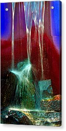 Diffusion Number Five Acrylic Print by Skip Willits