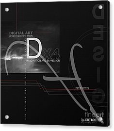 Digital Age X4 Acrylic Print