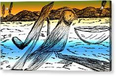 Digital Art 8 Acrylic Print by Senthil Kumar