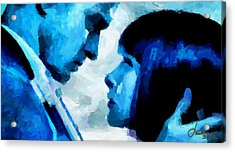 Digital Love Tnm Acrylic Print by Vincent DiNovici