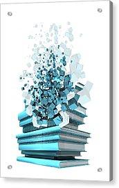 Digital Publishing, Conceptual Artwork Acrylic Print by Victor Habbick Visions
