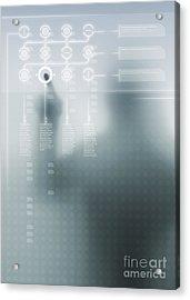 Digital User Interface Acrylic Print