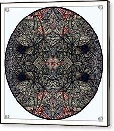Digitized Ballpoint September Seventeenth Acrylic Print