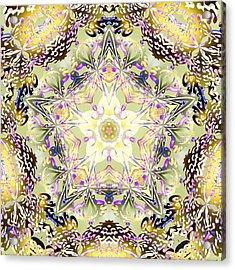 Digmandala Simha Acrylic Print