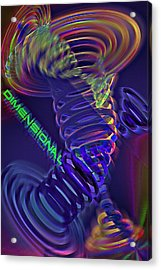 Dimensional 3 Acrylic Print by Steve Ohlsen