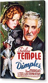 Dimples Acrylic Print by Movie Poster Prints