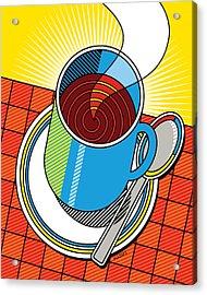 Diner Coffee Acrylic Print