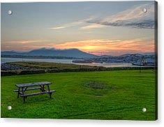 Dingle Harbor Sunset Acrylic Print