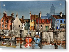 Dingle Harbour  Kerry Acrylic Print