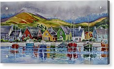 Dingle-harbour-1 Acrylic Print by Nancy Newman