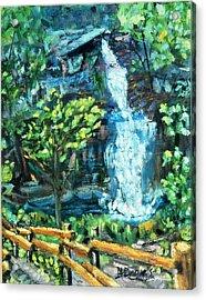 Dingman Falls Eastern Pennsylvania Acrylic Print