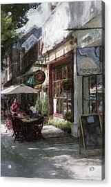 Dining Outside Acrylic Print