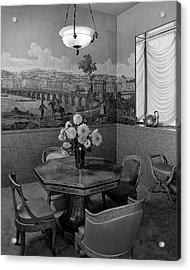 Dining Room In Helena Rubinstein's Home Acrylic Print