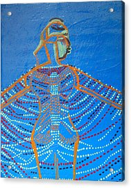 Dinka Corset Acrylic Print