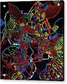 Dinka Joy Three - South Sudan Acrylic Print by Gloria Ssali