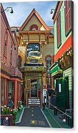 Dinks Taxi In Bar Harbor Acrylic Print