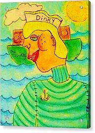 Dinky P. Troff Acrylic Print