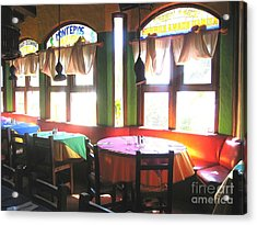 Dinner In Mazatlan Acrylic Print