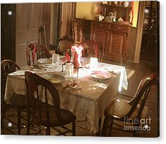 Acrylic Print featuring the photograph Dinner Party by Cristophers Dream Artistry