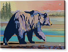 Dinner Time Acrylic Print by Bob Coonts