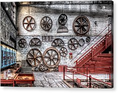 Dinorwig Quarry Workshop Acrylic Print by Adrian Evans