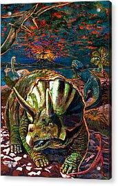 Dinosaurs Acrylic Print by Dan Terry