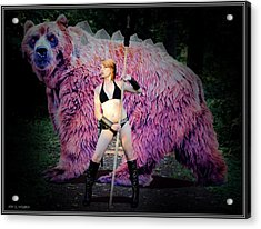 Dire Bear Acrylic Print