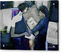 Directions Acrylic Print by Helen Hayes