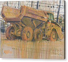 Dirt Mover Acrylic Print