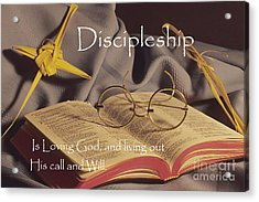 Discipleship Acrylic Print