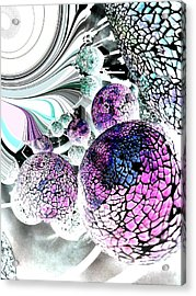 Acrylic Print featuring the digital art Disco 2 by Nico Bielow