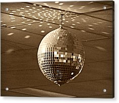Disco Ball Acrylic Print