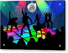 Disco Fever Acrylic Print