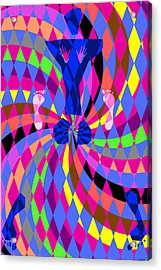 Disco Luvin Acrylic Print by Randall Henrie