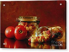 Discover A Taste Of Italy  Acrylic Print by Inspired Nature Photography Fine Art Photography