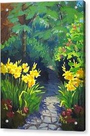 Discovery Garden Acrylic Print