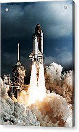 Discovery Hubble Launch Sts-31 Acrylic Print