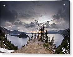 Discovery Point At Dawn Acrylic Print by Greg Nyquist