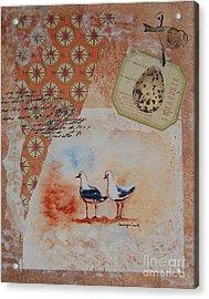 Discovery  Acrylic Print by Tamyra Crossley