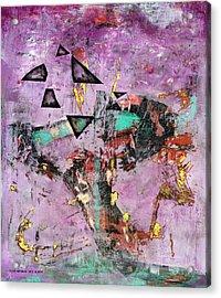 Disfunction Acrylic Print by Antonio Ortiz