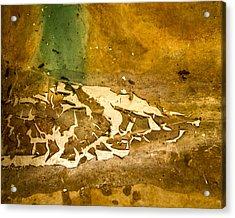 Disgusting Acrylic Print by Jean Noren