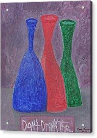 Disillusion Acrylic Print by Carol  Eliassen